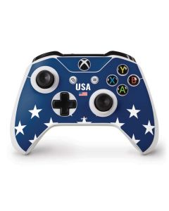 USA Flag Stars Xbox One S Controller Skin