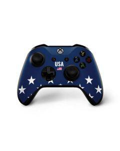 USA Flag Stars Xbox One X Controller Skin