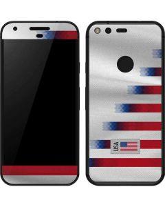 USA Soccer Flag Google Pixel Skin