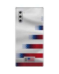 USA Soccer Flag Galaxy Note 10 Skin