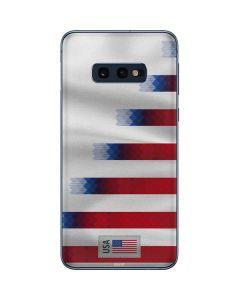 USA Soccer Flag Galaxy S10e Skin