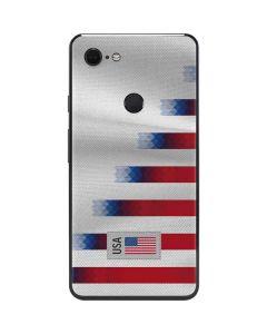 USA Soccer Flag Google Pixel 3 XL Skin