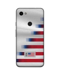 USA Soccer Flag Google Pixel 3a Skin