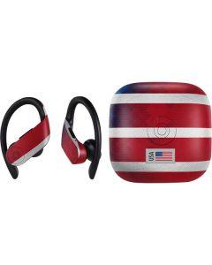 USA Soccer Flag PowerBeats Pro Skin
