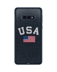 USA with American Flag Galaxy S10e Skin