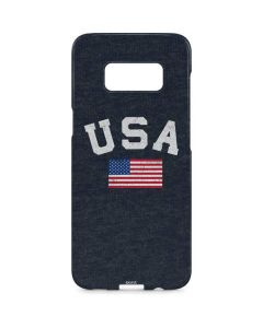 USA with American Flag Galaxy S8 Plus Lite Case