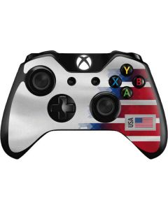 USA Soccer Flag Xbox One Controller Skin
