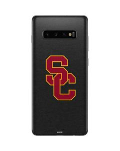 USC Dark Grey Logo Galaxy S10 Plus Skin