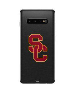 USC Dark Grey Logo Galaxy S10 Plus Skin