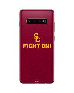 USC Fight On Galaxy S10 Plus Skin