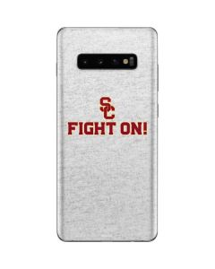 USC Fight On Grey Galaxy S10 Plus Skin