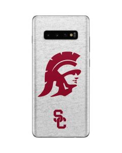 USC Grey Trojan Mascot Galaxy S10 Plus Skin