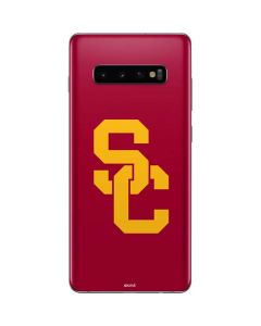 USC Red Logo Galaxy S10 Plus Skin