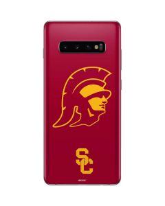 USC Trojan Large Mascot Galaxy S10 Plus Skin