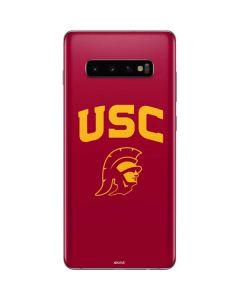 USC Trojan Logo Galaxy S10 Plus Skin