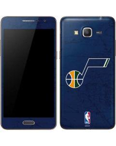 Utah Jazz Blue Texture Galaxy Grand Prime Skin