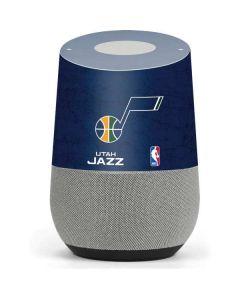 Utah Jazz Blue Texture Google Home Skin