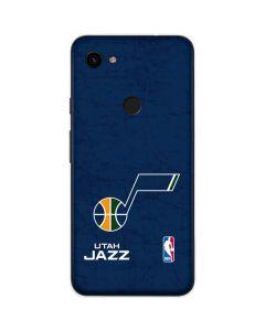 Utah Jazz Blue Texture Google Pixel 3a Skin