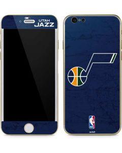 Utah Jazz Blue Texture iPhone 6/6s Skin