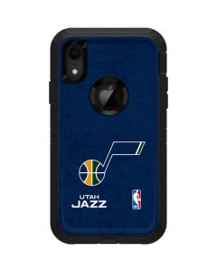 Utah Jazz Blue Texture Otterbox Defender iPhone Skin