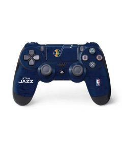 Utah Jazz Blue Texture PS4 Controller Skin