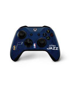 Utah Jazz Blue Texture Xbox One X Controller Skin