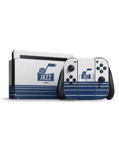 Utah Jazz Static Nintendo Switch Bundle Skin