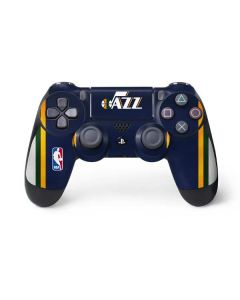 Utah Jazz Team Jersey PS4 Controller Skin