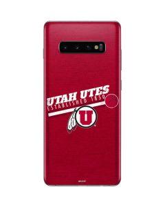 Utah Utes Est 1850 Galaxy S10 Plus Skin