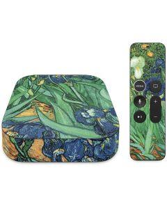 van Gogh - Irises Apple TV Skin