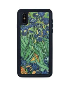 van Gogh - Irises iPhone XS Max Waterproof Case