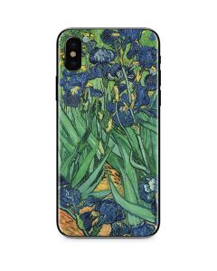 van Gogh - Irises iPhone XS Skin