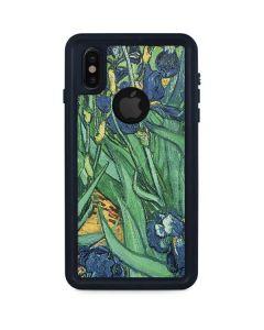 van Gogh - Irises iPhone XS Waterproof Case