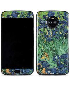 van Gogh - Irises Moto X4 Skin
