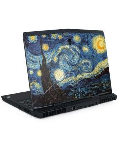 van Gogh - The Starry Night Dell Alienware Skin