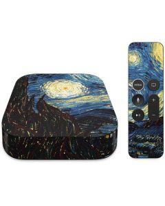 van Gogh - The Starry Night Apple TV Skin