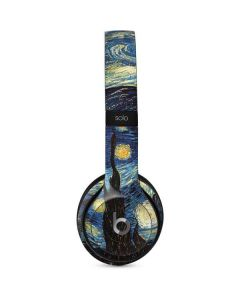 van Gogh - The Starry Night Beats Solo 2 Wired Skin