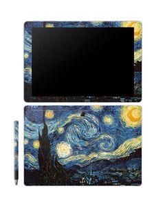 van Gogh - The Starry Night Galaxy Book 10.6in Skin