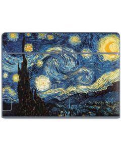 van Gogh - The Starry Night Galaxy Book Keyboard Folio 10.6in Skin