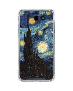 van Gogh - The Starry Night Galaxy J7 (2017) Clear Case
