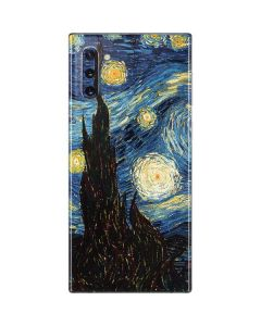 van Gogh - The Starry Night Galaxy Note 10 Skin