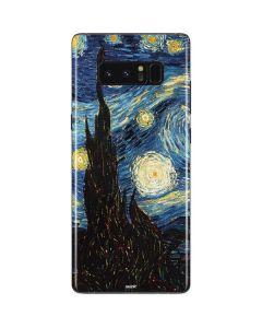 van Gogh - The Starry Night Galaxy Note 8 Skin