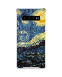 van Gogh - The Starry Night Galaxy S10 Clear Case