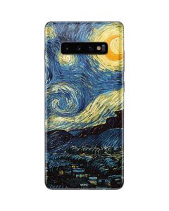 van Gogh - The Starry Night Galaxy S10 Plus Skin