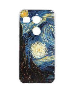 van Gogh - The Starry Night Google Nexus 5X Clear Case