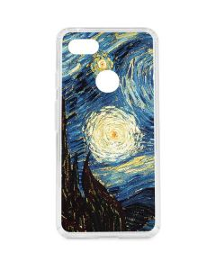 van Gogh - The Starry Night Google Pixel 3 XL Clear Case
