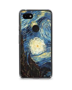 van Gogh - The Starry Night Google Pixel 3a Clear Case
