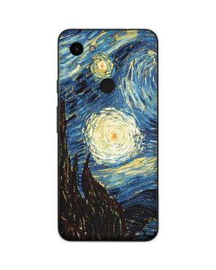van Gogh - The Starry Night Google Pixel 3a Skin