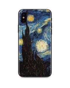 van Gogh - The Starry Night iPhone X Skin