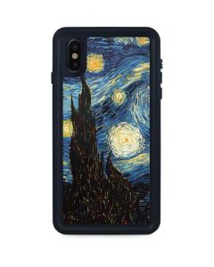 van Gogh - The Starry Night iPhone XS Max Waterproof Case